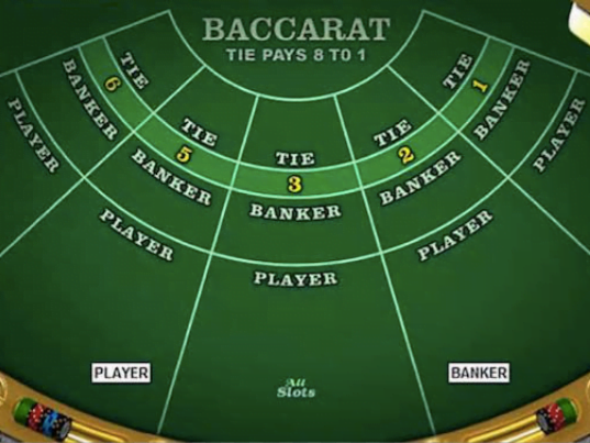 Baccarat Table - screenshot