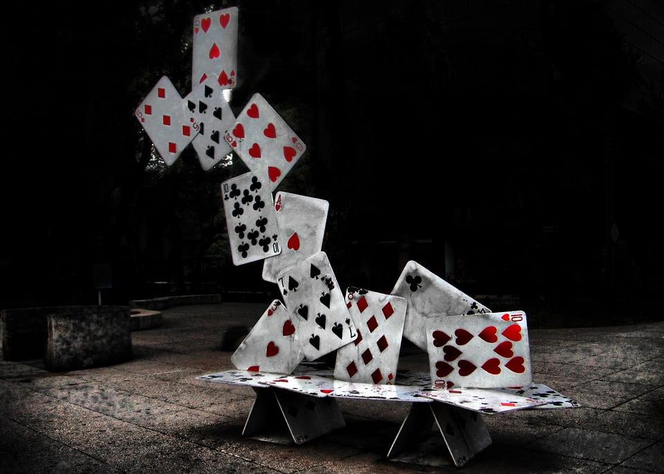 Poker tournament - cards