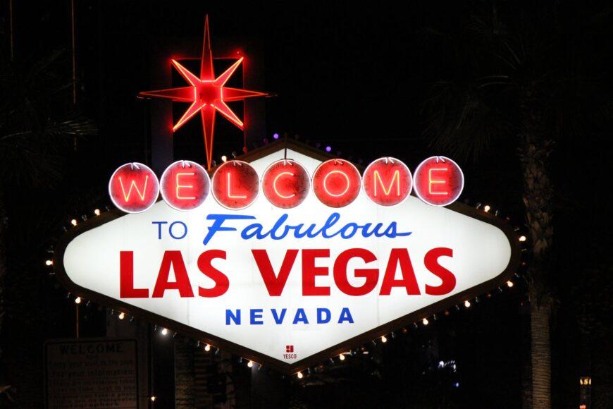 Las Vegas - skylt ok