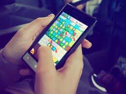 Mobile phone - game ok