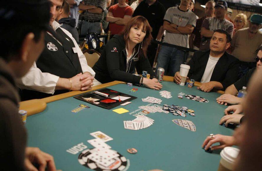 annie duke playing poker