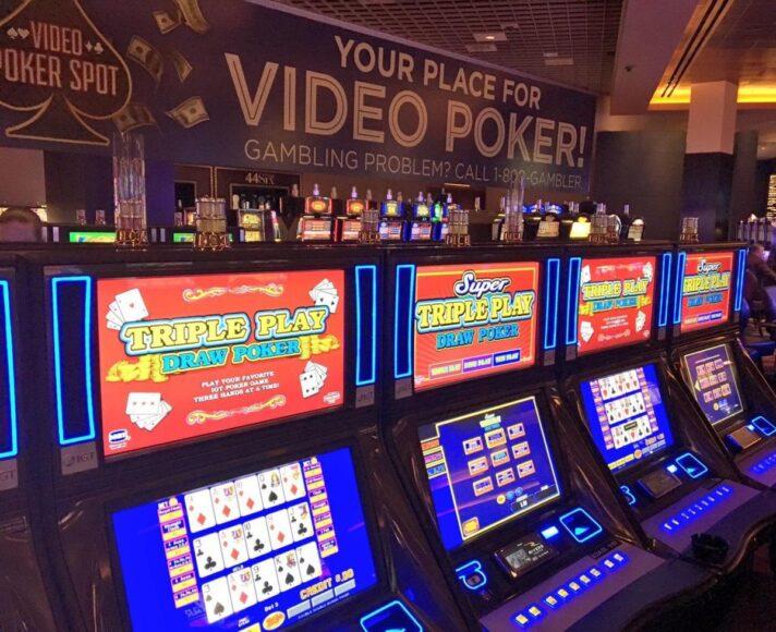 video poker machine