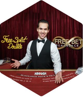 Evolution - Free Bet Blackjack