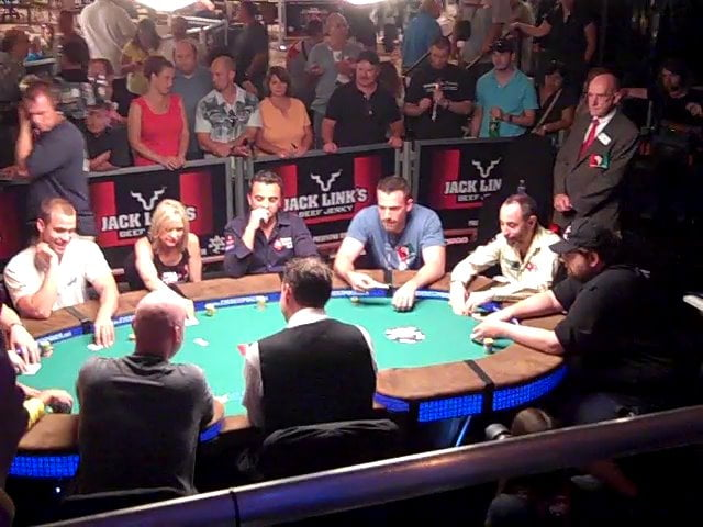 Poker Tournament - people table