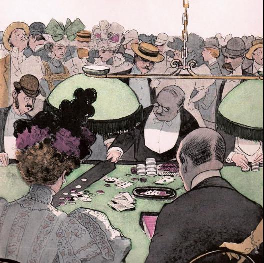 Baccarat year 1897