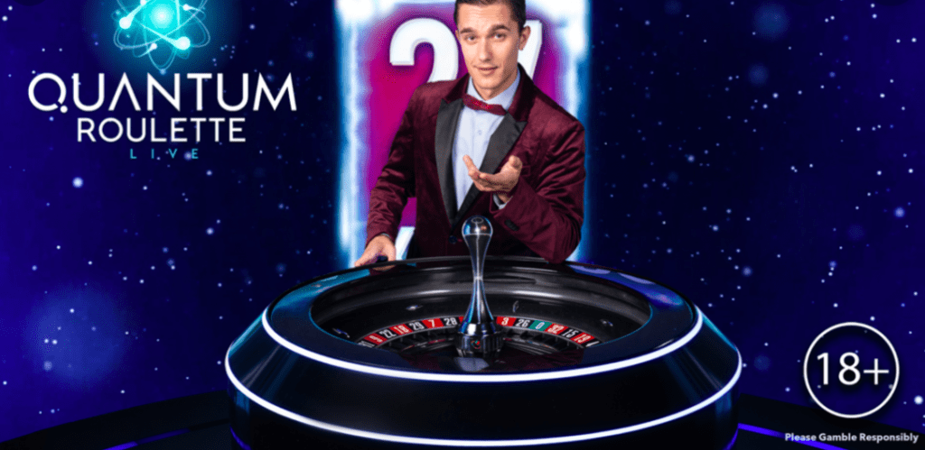 Playtech - quantum roulette screenshot
