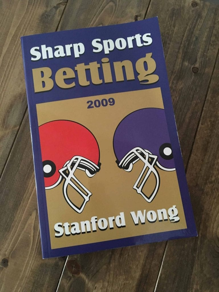 Sharp Sports Betting - Stanford Wong book