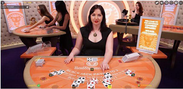 Live Celebrity Blackjack Party
